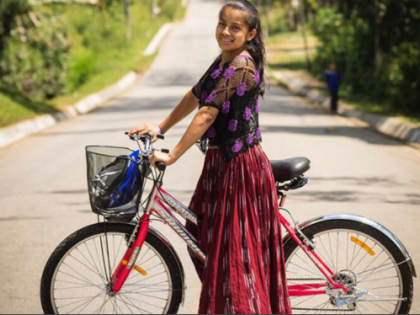 With bicycles, indigenous girls get a taste of freedom